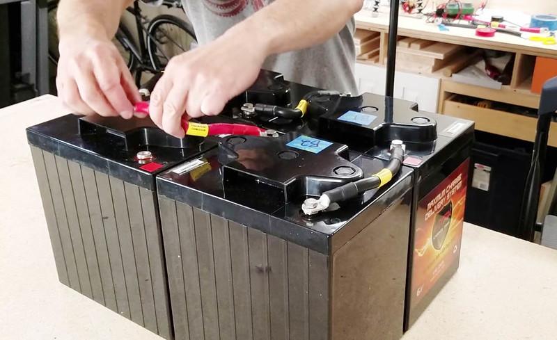 test wiring battery